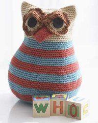 Crochet Owl TOy - free crochet pattern