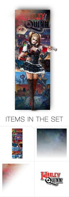 """Harley Quinn"" by auntiehelen ❤ liked on Polyvore featuring art"