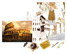 """""""Roma Roxariaone"""" by roxariaone ❤ liked on Polyvore"""