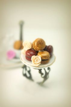 Those Classy French Macaroons Ring in Polymer by DIVINEsweetness,
