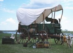 Okay -  Maybe I went back TOO Far in time -  I will stop here - prairie covered wagon