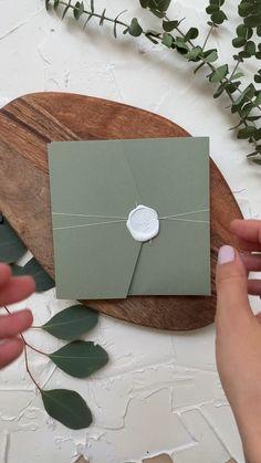 Green Wedding Invitations, Wedding Invitation Cards, Wedding Cards, Dream Wedding, Wedding Day, Rustic Wedding, Church Wedding, Budget Wedding, Spring Wedding