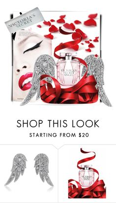 """""""Angel"""" by alice-through-the-looking-glass ❤ liked on Polyvore featuring beauty, Victoria's Secret and BERRICLE"""