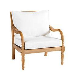 Ceylon Teak Lounge Chair