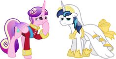 Cadence and Princess Shining Armor | My Little Pony: Friendship is Magic | Know Your Meme