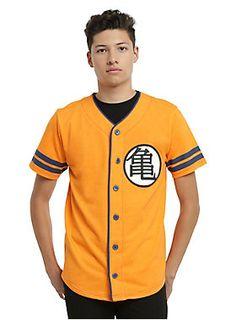 Check it out, Super Saiyan! // Dragon Ball Z Baseball Jersey