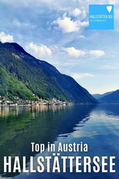 HALLSTÄTTER SEE ❤️ Naturwunder im Salzkammergut, Österreich. Hallstatt, Obertraun und Bad Goisern sind die drei Orte am Hallstätter See. Überragt werden sie von den mehr als 2000 Meter hohen Bergen rundherum. Zwischendrin liegt der glasklare Bergsee wie ein Fjord. Du kannst hier viel schöne Natur erkunden – sei es rund um den Bergsee, auf dem Wasser oder oben auf den Bergen. #hallstatt #see #hallstättersee #österreich Fjord, Seen, Austria, Mountains, Bad, Nature, Travel, Natural Wonders, Road Trip Destinations