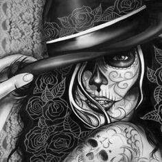 Death becomes her...day of the dead