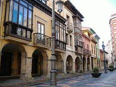 Avilés, casco histórico