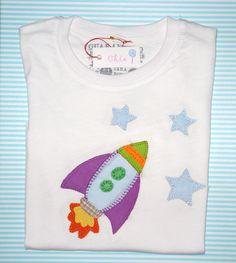 camiseta patchwork