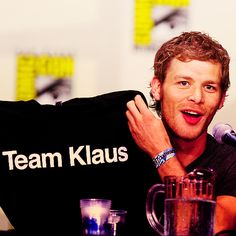 The Vampire Diaries - Team Klaus <3 Where can I find this shirt??????