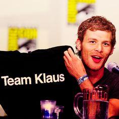 #TeamKlaus
