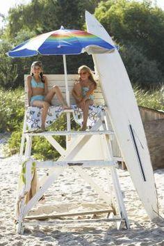 How to Make a Beach Lifeguard Chair
