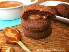 Molto Zucchero e Poco Sale: Biscotti ai Cereali e Mandorla con Caramello Salat...