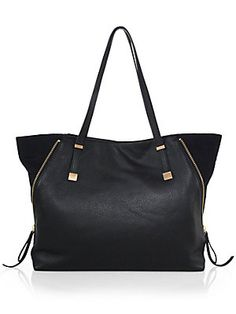 Joie Edie Leather Tote Bag