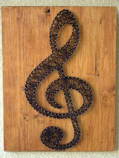 Hey, I found this really awesome Etsy listing at https://www.etsy.com/listing/152612237/string-art-clef-customizable-wall