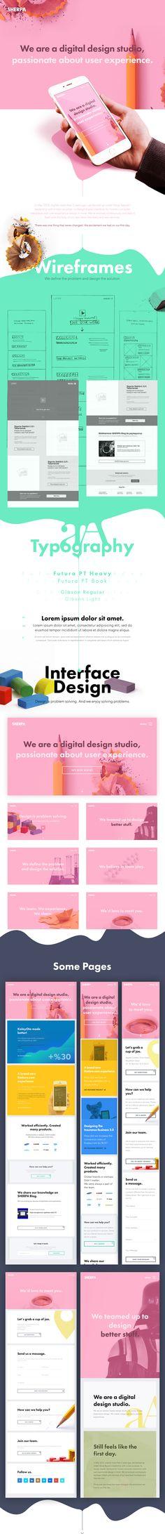 SHERPA Website V2.0 on Web Design Served