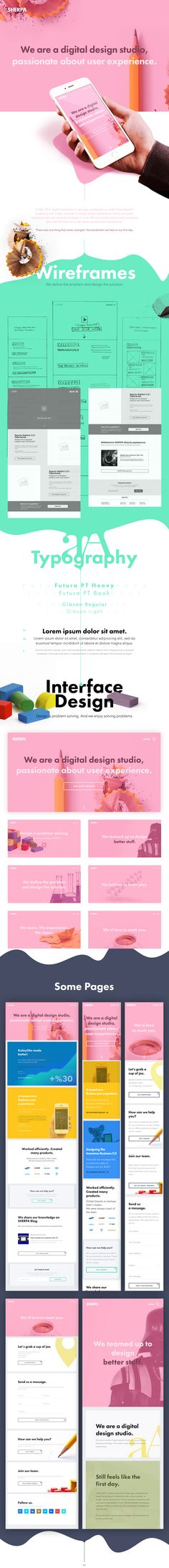 SHERPA Website V2.0 on Web Design Served