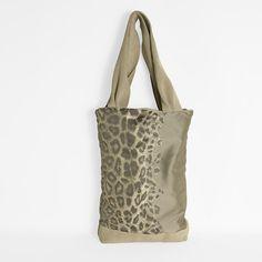 Animal print bag  Tote bag  One of a kind bag by ElenaVandelliBags