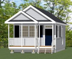 16x30 Tiny House 16X30H1B 480 Sq Ft