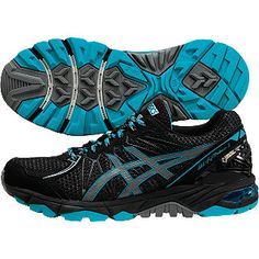 Asics trail running shoes - LADY GEL-FujiTrabuco 3G-TX