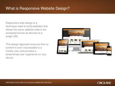 In this webinar O'Rourke Hospitality Marketing shared emerging marketing opportunities that hotels should be evaluating for Specific topics covered inclu… Marketing Opportunities, Hotel Website, Responsive Web Design, Digital Marketing Strategy, Coding, How To Plan, Digital Marketing, Programming