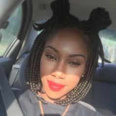 15 Photos That Prove Bob Box Braids Are the Hottest New Protective Style Trend