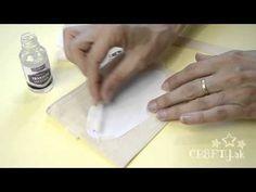 Transfer Solution Pentart - prenášanie obrázkov na povrch - YouTube