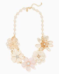charming charlie | Floral Burst Statement Necklace | UPC: 400000279169 #charmingcharlie