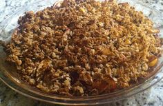 Recipe: Gluten free, Dairy free, Guilt Free Fruit Crumble ~ An Avocado A Day Apple And Berry Crumble, Fruit Crumble, Dairy Free Recipes, Healthy Recipes, Free Fruit, Sugar Cravings, Guilt Free, Dessert Recipes, Desserts