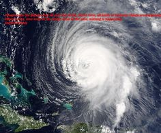 The hurricane Isabel east of the Bahamas 2003 seen from the sky. Photo from NASA EOSDIS Rapid Responce. Tsunami, Natural Phenomena, Natural Disasters, Hurricane Photography, What Is A Hurricane, Hurricane Images, Mother Earth, Mother Nature, Fibonacci Number
