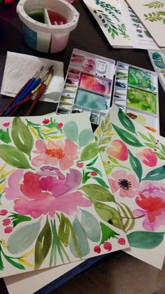 Once you've taken Yao's Beginning Watercolor workshop, you're ready to learn…