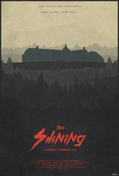 The Shining - minimal movie poster - Edward Julian Moran II