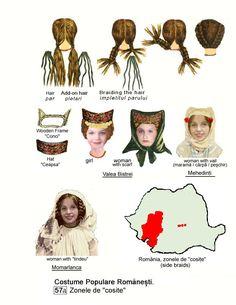 Mehedinti Cosite Folk Costume, Costumes, Fashion Illustration Vintage, Medieval Clothing, Fashion History, Traditional Dresses, Folk Art, Europe, Popular