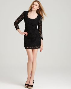 french connection t-lark rise lace dress <3