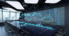 Ad: Animated Charts Diagrams of Financial Statistics report Growing on Table in Office Interior. 10 sec intro and 10 sec loop. Global Stock Market, Global Stocks, Cinema Camera, Futuristic Technology, Hd Video, Motion Video, Augmented Reality, Ad Design, Video Footage