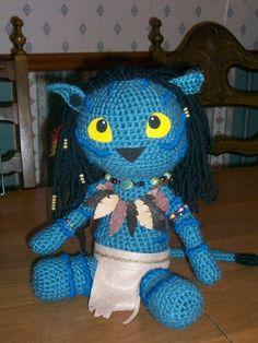 My Neytiri Amigurumi Doll by bandotaku on deviantART
