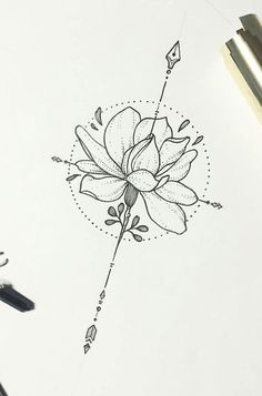 There is such a vast array of tattoo options. In this article, however, we are going to focus on the beautiful and meaningful compass tattoo. tattoo ▷ 1001 ideas for a beautiful and meaningful compass tattoo Arrow Tattoos, Forearm Tattoos, Rose Tattoos, Body Art Tattoos, New Tattoos, Tatoos, Sternum Tattoos, Lottus Tattoo, Trendy Tattoos