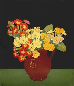 """Polyanthus"" by John Hall Thorpe"