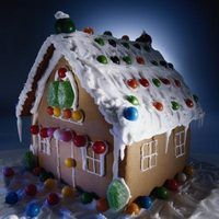 Create your own life-sized version of a gingerbread house.