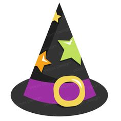 PPbN Designs - Witch Hat (SVG Only), $0.00 (http://www.ppbndesigns.com/products/witch-hat-svg-only.html)
