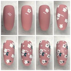 Nail art designs, pin suggestion 7988680751 for one delightfully amazing nail de. - Nail art designs, pin suggestion 7988680751 for one delightfully amazing nail design. Nail Art Hacks, Nail Art Diy, Diy Nails, Rose Nail Art, Floral Nail Art, Nail Art Designs Videos, Nail Art Videos, Nail Art For Beginners, Manicure E Pedicure