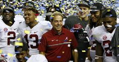 So proud..you can see it on Coach Saban's face! :)