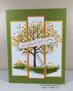 thankful card by Karen Hallam