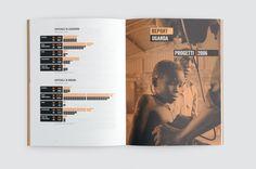 Medici con l'Africa CUAMM — Annual Report on Editorial Design Served