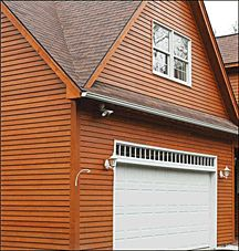 Vinyl siding that looks like cedar the look of a log home for Exterior siding that looks like wood