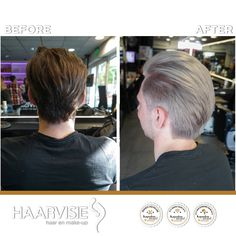 #haarvisie #haircolor #menhairstyle #hairstyles2017 #haarvisierijswijk #olaplex #grey #mrgrey Top Stylist, Latest Fashion Trends, Hair Care, Stylists, Beautiful, Color, Style, Swag, Colour