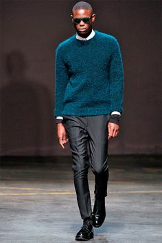 A. Sauvage Fall/Winter 2014   London Collections: Men