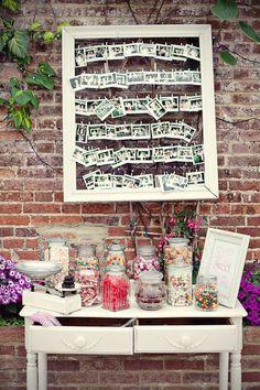 Polaroids. Candy Jars. Open Frame. O M G