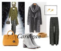 """Cardigan"" by reschikovav on Polyvore featuring мода, Bottega Veneta, Missoni, Gianvito Rossi, Furla и Polaroid"
